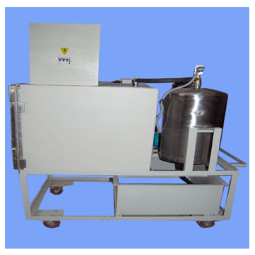 Vacuum Infrared Heating System For Fuel Cell, IR Heating Of